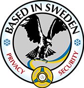 Based in Sweden Logo